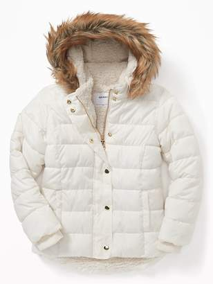 Old Navy Frost-Free Puffer Jacket for Girls