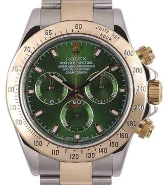 Rolex Daytona 116523 18K Yellow Gold & Stainless Steel 40mm Mens Watch