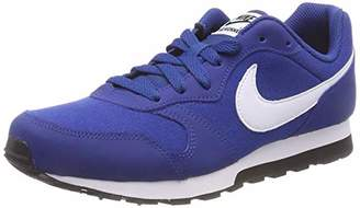 Nike Boys Md Runner 2 (gs) Competition Running Shoes, (Gym Blue/White/Black 411)