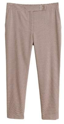 MANGO Houndstooth suit pants