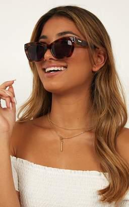 Showpo MinkPink - Motive Sunglasses In Tort Sale Accessories