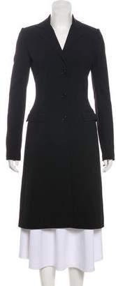 Dolce & Gabbana Button-Up Long Coat