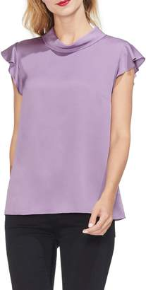 Vince Camuto Ruffle Sleeve Top