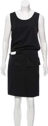Y's by Yohji Yamamoto Sleeveless Cutout Dress
