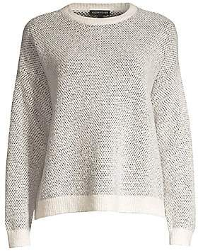 Eileen Fisher Women's Textured Roundneck Sweater