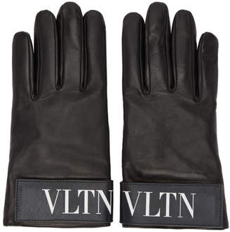 Valentino Black Garavani VLTN Gloves
