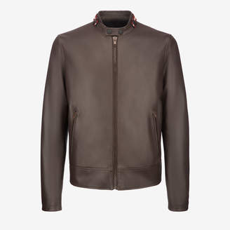 Bally Cafe Racer Biker Jacket