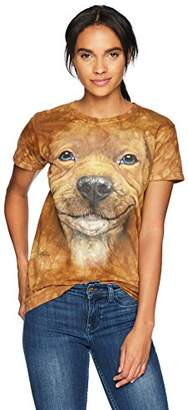 The Mountain Bf Pitbull Puppy Adult Woman's T-Shirt