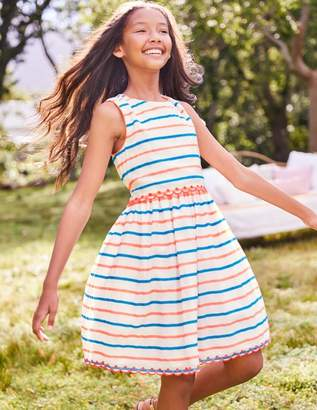 Boden Stripy Organza Dress
