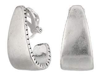 The Sak Large Clip-On Hoop Earrings