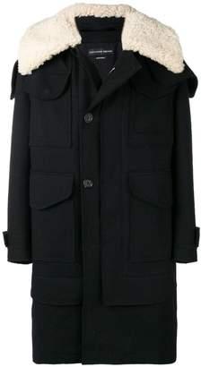 Alexander McQueen mid-length duffle coat