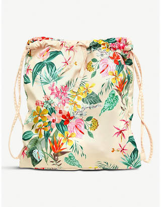 PARADISO NONE patterned drawstring backpack