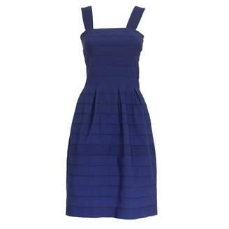 Caban Romantic Blue Viscose Dresses