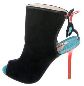 Sophia Webster Suede Ankle Boots