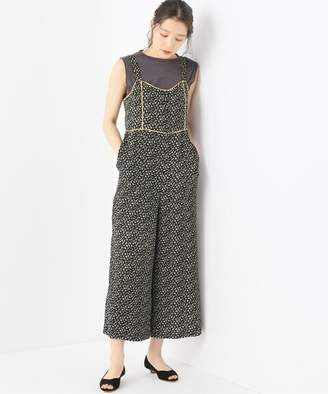 Spick and Span (スピック アンド スパン) - Spick and Span 【Madewell】 WIDE LEG BUTTON RETRO JUMP SUIT