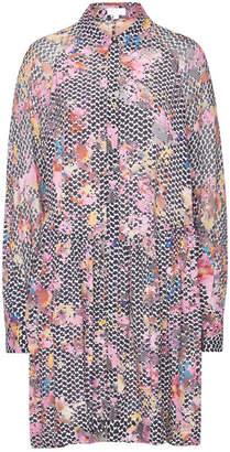 Lala Berlin Sia Printed Dress with Silk