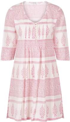 At Last... - Annabel Cotton Tunic Pink Stripe