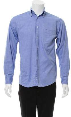 Balmain Button-Down Collar Button-Up Shirt