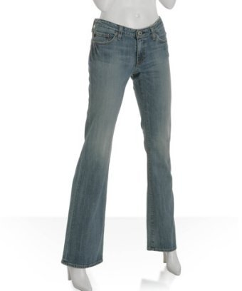 AG Adriano Goldschmied light wash faded 'Angel' bootcut jeans