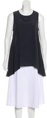 0039 Italy Silk Sleeveless Top