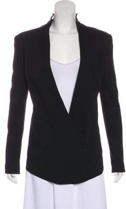 Theyskens' Theory Structured Long Sleeve Blazer
