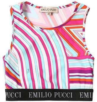 Emilio Pucci Printed Lycra Top