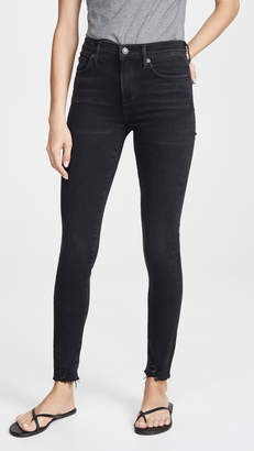 A Gold E AGOLDE Sophie Mid Rise Ankle Jeans