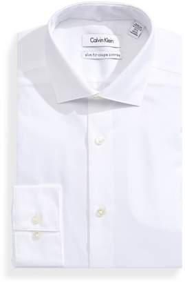 Calvin Klein Slim Textured Dress Shirt