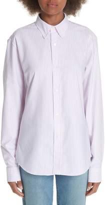 Acne Studios Ohio Stripe Button Down Shirt