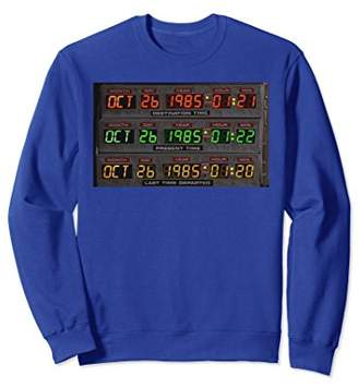 Back To The Future - DeLorean Time Circuits Sweatshirt