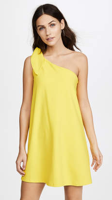 Susana Monaco Kenna One Shoulder Dress
