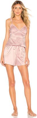 homebodii Short Piping Pyjama Set