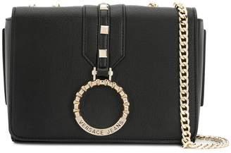 Versace logo ring crossbody bag