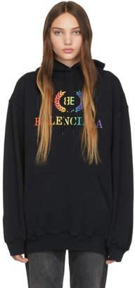 Balenciaga Black Rainbow BB Hoodie