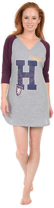 Disney Harry Potter- Jersey 3/4 Sleeve Nightshirt-Juniors
