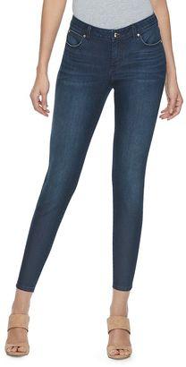 Women's Jennifer Lopez Ankle Skinny Jeans $50 thestylecure.com