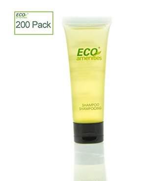 ECO Amenities Transparent Tube Flip Cap Individually Wrapped 30ml Shampoo