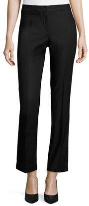 NIC+ZOE Perfect Front-Zip Straight-Leg Pants $128 thestylecure.com