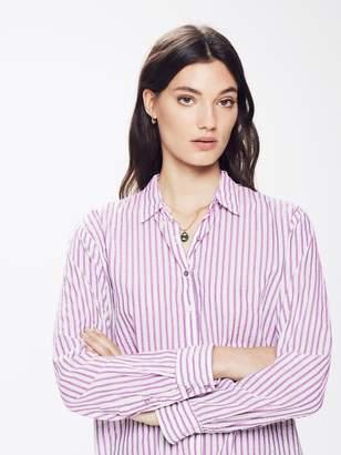 Xirena XiRENA Beau Cotton Stripe Shirt - Shell