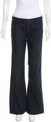 Raven Mid-Rise Wide-Leg Jeans w/ Tags