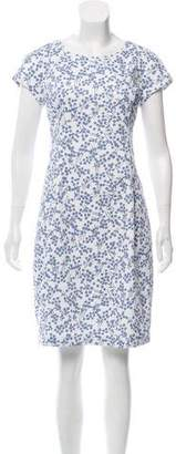 Peserico Knee-Length Printed Dress w/ Tags
