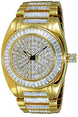 Adee Kaye Men's Quartz Brass Dress Watch