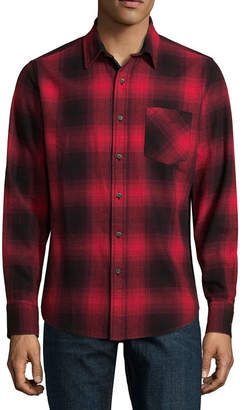 Arizona Long Sleeve Spread Collar Flannel Shirts