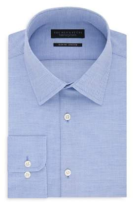 Bloomingdale's The Men's Store at Solid & Textured Slim Fit Dress Shirt - 100% Exclusive