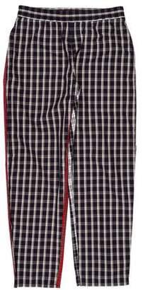 Gosha Rubchinskiy Combo Checkered Pants w/ Tags
