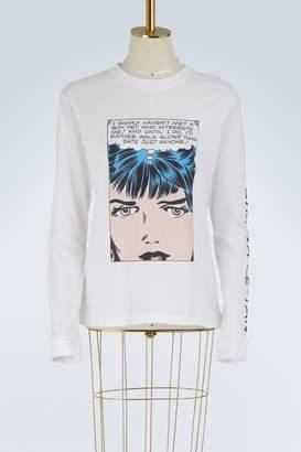 Olympia Le-Tan Walk Alone cotton T-shirt