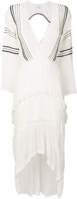 IRO long embroidered dress