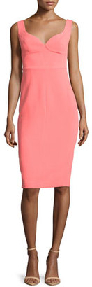 Black Halo Sleeveless Sweetheart-Neck Sheath Dress, Fiji $345 thestylecure.com