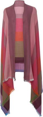 Arca Lanificio Batavia Color-Block Silk Cashmere Scarf
