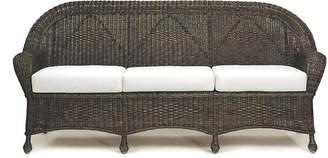 One Kings Lane Eastern Shore Wicker Sofa - Dark Walnut